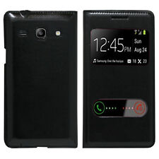 Housse Etui Coque View Case NOIR Samsung Galaxy Core Plus G3500/ Trend 3 G3502