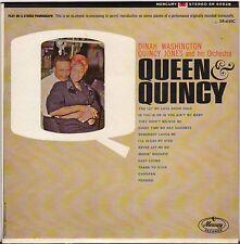 """DINAH WASHINGTON  & QUINCY JONES """"QUEEN & QUINCY"""" JAZZ VOCAL 60'S EP"""
