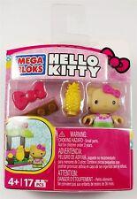 Mega Bloks Hello Kitty Tiki Toy Figure 17 Pieces Hawaii NEW