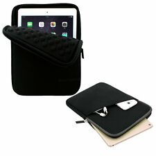 Apple iPad Pro 9.7 Case Waterproof Neoprene Sleeve Pocket Pouch Bag Slim Black