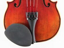 Strad Pad Regular Violin/Viola Chinrest Pad BLACK MEDIUM