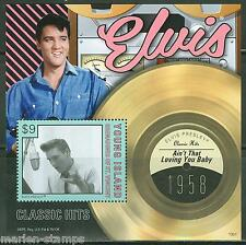 YOUNG ISLAND  2013 ELVIS PRESLEY CLASSIC HITS AIN'T THAT LOVING YOU BABY S/S  NH