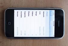 Apple iPhone 2G 1st Generation 8GB Black unlocked to all networks *VIDEO*