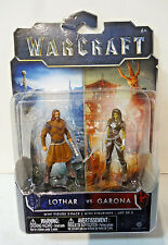 2016 World of Warcraft Lothar VS Garona Mini Figure 2-pack
