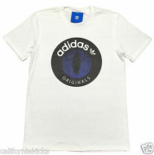 ADIDAS Originals Snakeyes T-Shirt sz M Medium White Purple Snake NMD Boost Japan