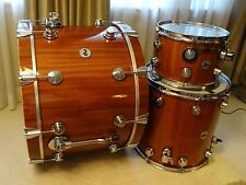 DW Collectors Maple Mahogany 3-pc 12/16/24 shellpack in natural lacquer