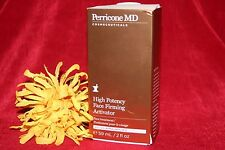 DR PERRICONE MD HIGH POTENCY FACE FIRMING ACTIVATOR FULL SIZE 2 OZ BOX AUTHENTIC