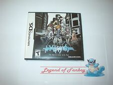 * New * Sealed * The World Ends With You - Nintendo DS (or 3DS) Square-Enix RPG
