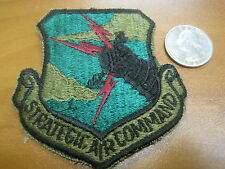 Vintage US Air Force Strategic Air Command Patch USAF