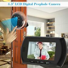 "4.3"" LCD Digital Peephole Viewer Door Eye Doorbell Video IR Motion Camera A8N8"