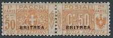 1916 ERITREA PACCHI POSTALI 50 CENT MH * - RR13801