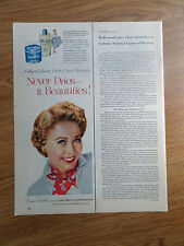 1954 Lustre-Creme Shampoo Ad Movie Star Jane Powell