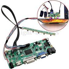 HDMI DVI VGA Audio LCD Controller Board PC Module Kit For 1366x768 B156XW02