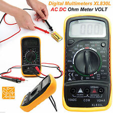 LCD DIGITAL MULTIMETER Voltmeter AC DC Tensione Tester circuito Checker CICALINO UK