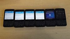 JOB LOT OF NON-WORKING/FAULTY BLACKBERRY Q5 SMARTPHONES, VARIOUS FAULTS x 6