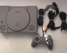 ORIGINAL SONY PLAYSTATION 1 GREY CONSOLE TESTED AND WORKING PS1 PS ONE PSONE