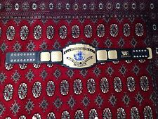 WWF logo Intercontinental Championship replica title belt WWE full adult size