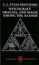 Witchcraft, Oracles And Magic Among The Azande [Paperback]