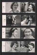 2006 GB QEII H M QUEEN'S 80TH BIRTHDAY COMMEMORATIVE STAMPS SG 2620 - 2627 MNH