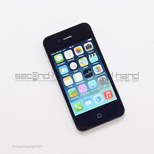 Apple iPhone 4 16GB Black Factory Unlocked SIM FREE Good Condition  Smartphone