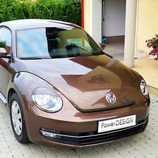 Eyebrows for VW BEETLE 2011 +  headlight eyelids lids ABS Plastic