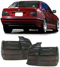 ALL SMOKED REAR TAIL LIGHTS FOR BMW E36 SEDAN SALOON 12/1990-3/1998 NICE GIFT