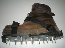 Spiked Lawn Grass Aerator Spike Aerating Shoes / Sandals 13 x 25mm Spikes