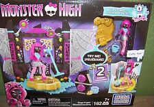 MEGA BLOKS Monster High Stage Fright Monsterconcierto with Catty Noir Fig. NEW