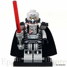 Custom Sith Lord Darth Malgus Star Wars Minifig fits with Lego xh393 UK Seller
