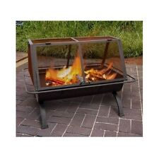 Outdoor Fireplace Fire Pit Wood Burning Chiminea Portable Heater Patio Yard Home