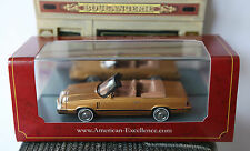 DODGE 600 CONVERTIBLE GOLD 1984 NEO 44998 1/43 CABRIOLET OR DORE LEFT HAND DRIVE