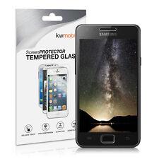 kwmobile Panzer Glas für Samsung Galaxy S2 S2 PLUS Echt Schutz Folie Handy Klar