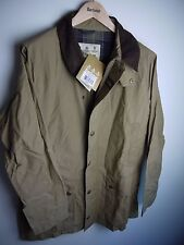 Barbour Men's Casual Gamefair Jacket, New With Tags, Dark Stone, Small