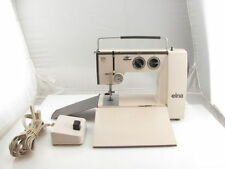 Elna Lotus Sp Type 35 Zig Zag Portable Sewing Machine & Pedal