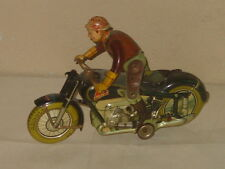 VINTAGE ARNOLD U.S. ZONE GERMANY TIN LITHO MAC 700 TOY WIND UP MOTORCYCLE