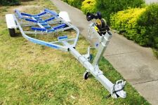 Precision boat trailer 5.2 mt SUIT ALLOY BOAT galvanised drive on.. 14-16ft hull