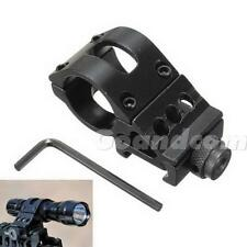 "1pcs Tactical Flashlight/Laser 1"" Offset for Picatinny Weapon Rail Mount G1CG"