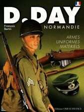 D.Day Normandy, arms, uniforms, materials, French book