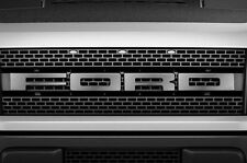 Ford Raptor F150 SVT Grille Insert Graphic Vinyl Sticker Grill Decal - STEEL