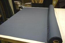 "CAL PACIFIC STEEL BLUE 100% COTTON PINPOINT SHIRTING FABRIC 58""W SOLD BY THE YD"