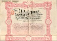 THE OIL ROYALITIES TRUST (K)