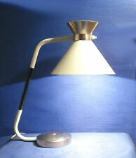 "LAMPE DE TABLE JUMO 450  REFLECTEUR ""DIABOLO"" D'INSPIRATION GUARICHE 1960/1970"