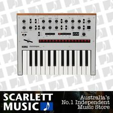 Korg Monologue 25 Note Monophonic Synthesizer Silver *BRAND NEW*