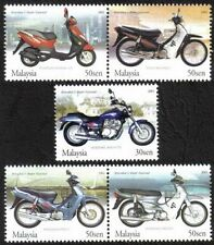 Malaysia 2003 Motorcycles and Scooters MNH