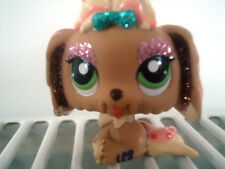 LITTLEST PET SHOP~LPS~HUND~FIGUR~GLITZER~SPARKLE~MALTESER~2155~SAMMLUNG~DOG~RAR