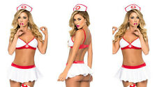 Europe sexy nurse suits sexy game uniforms Hat + Top + skirt Temptation Size M