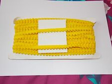 1m Pearl POM POM BOBBLE TRIM 10mm trim fringe tassel yellow