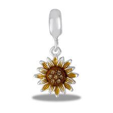 Davinci Beads Charm - SUNFLOWER Dangle - Buy 2 or More DaVinci and Save!