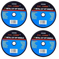 """4 PC 3"""" Cut Off Wheel For Metal Cutting Disc Grinders 1/32"""" Thickness"""