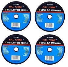 "4 PC 3"" Cut Off Wheel For Metal Cutting Disc Grinders 1/32"" Thickness"